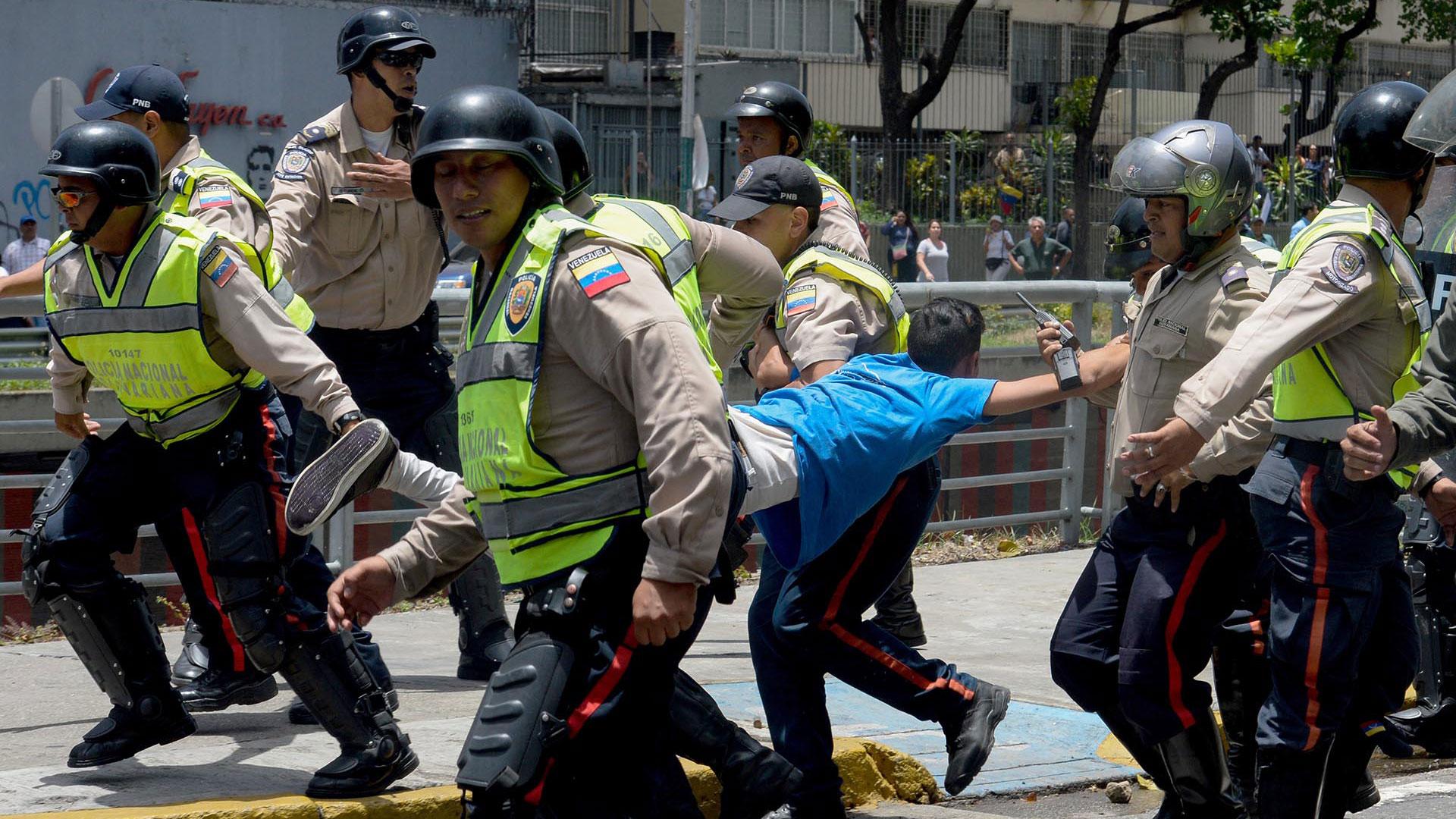 Represión Venezuela
