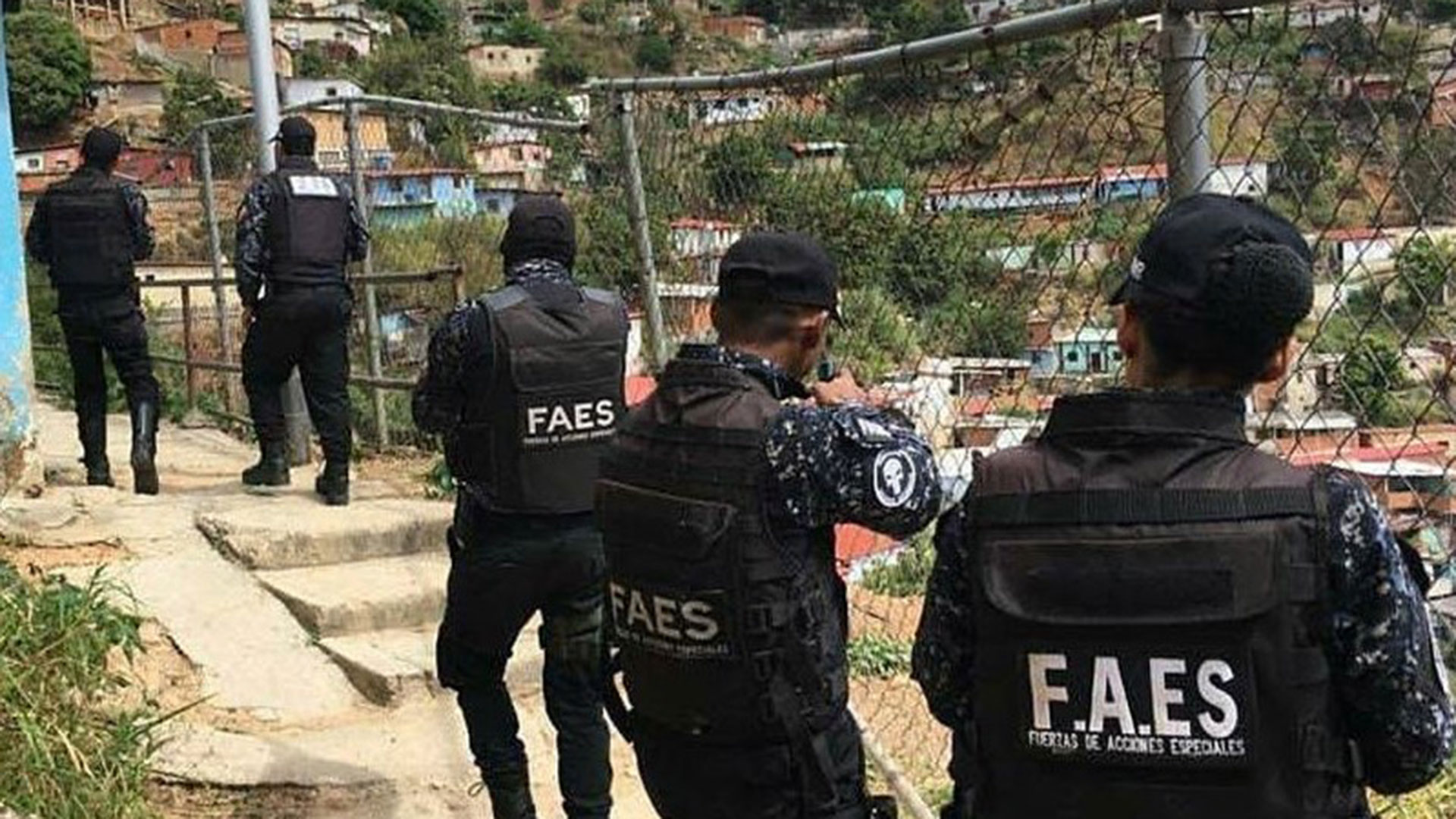 ejecuciones extrajudiciales registradas en Caracas