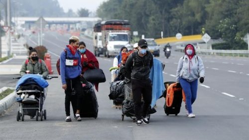 Venezolanos retornados