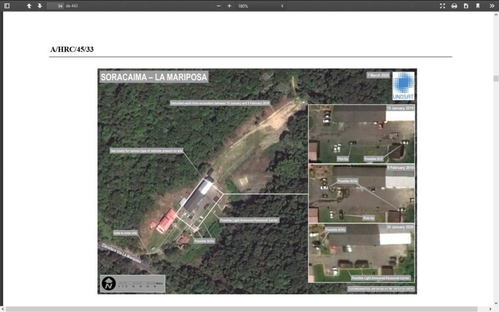 centros clandestinos de detención de la Dgcim